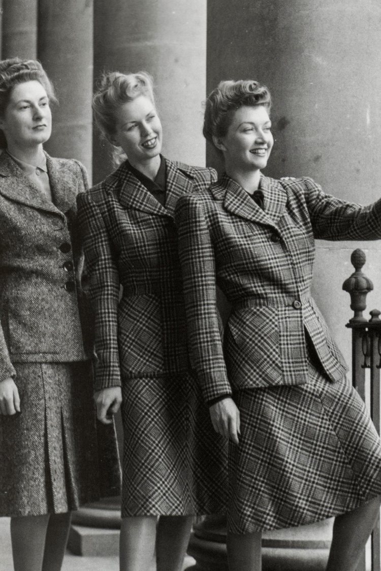 WWII Era Fashion – Ingenuity During the Time of a Crisis
