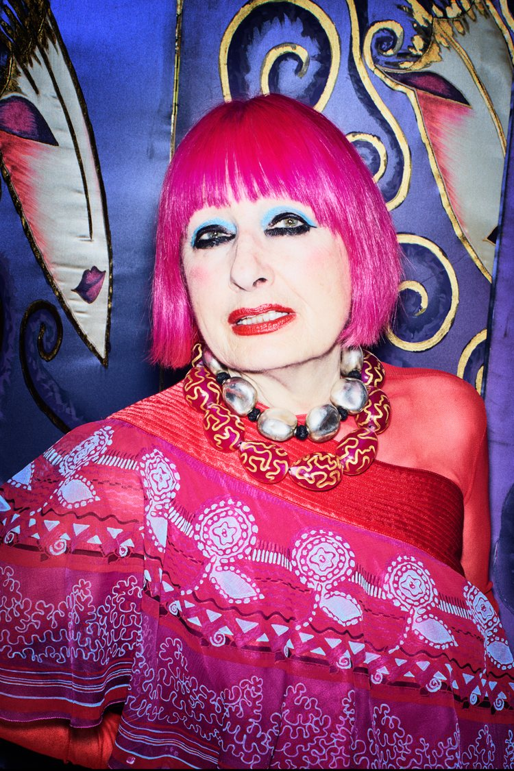 Zandra Rhodes – The Master of the Prints