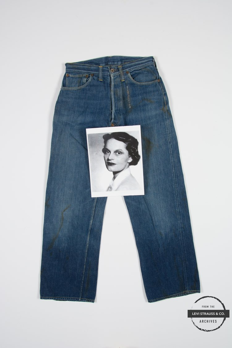 The Story of The Oldest Pair of Women's Jeans